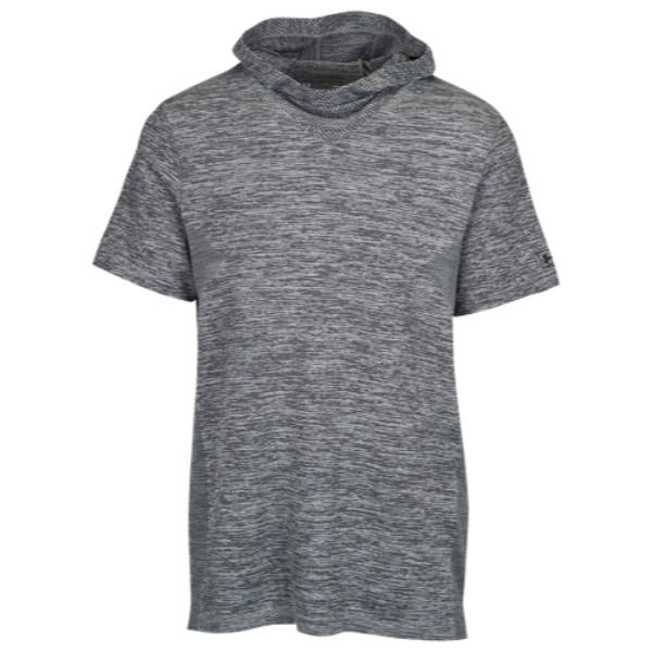 アンダーアーマー Under Armour メンズ トップス Tシャツ【Curry Seamless Hooded T-Shirt】Grey Heather