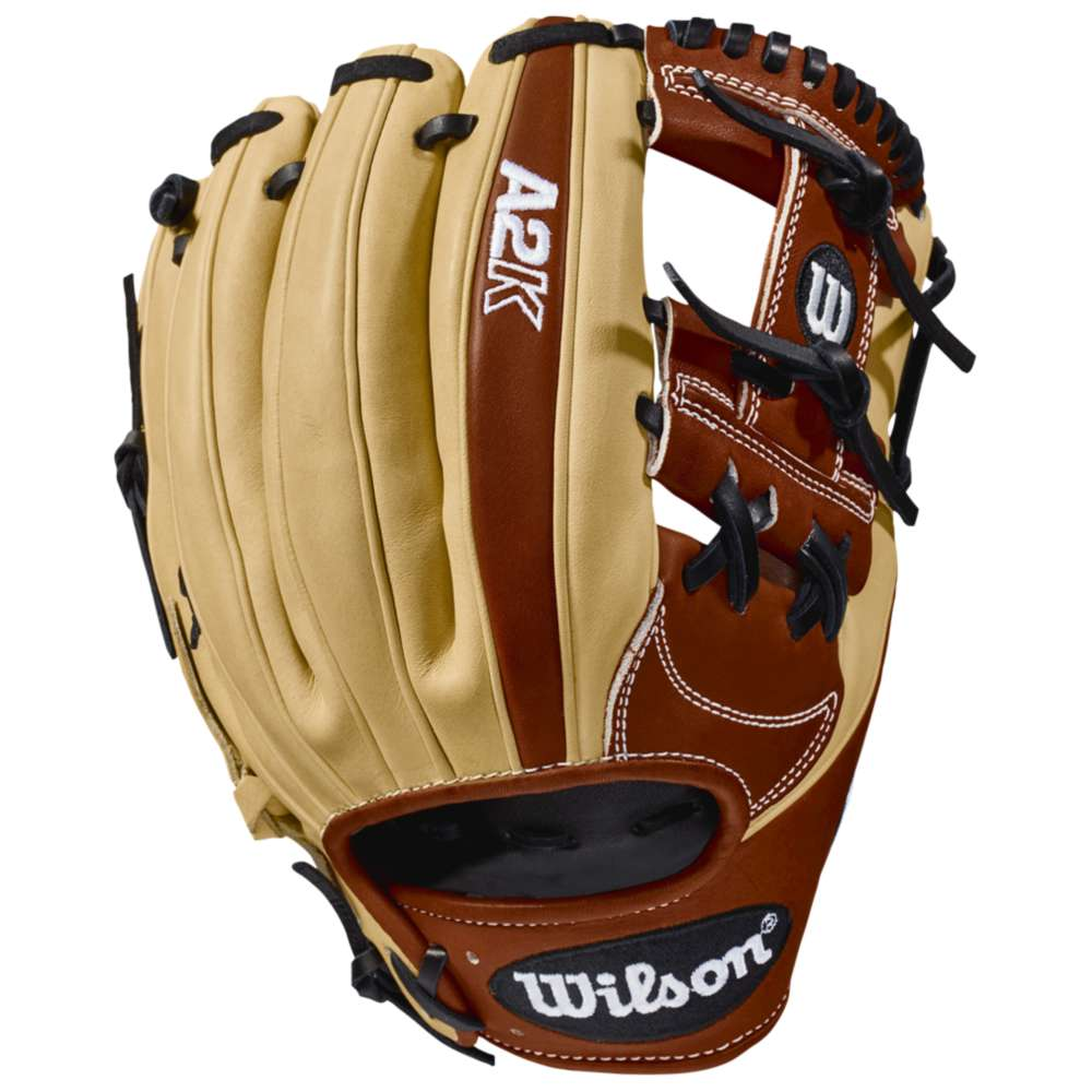 ウィルソン Wilson メンズ 野球 グローブ【A2K 1787 Fielder's Glove】Blonde/Copper/Black