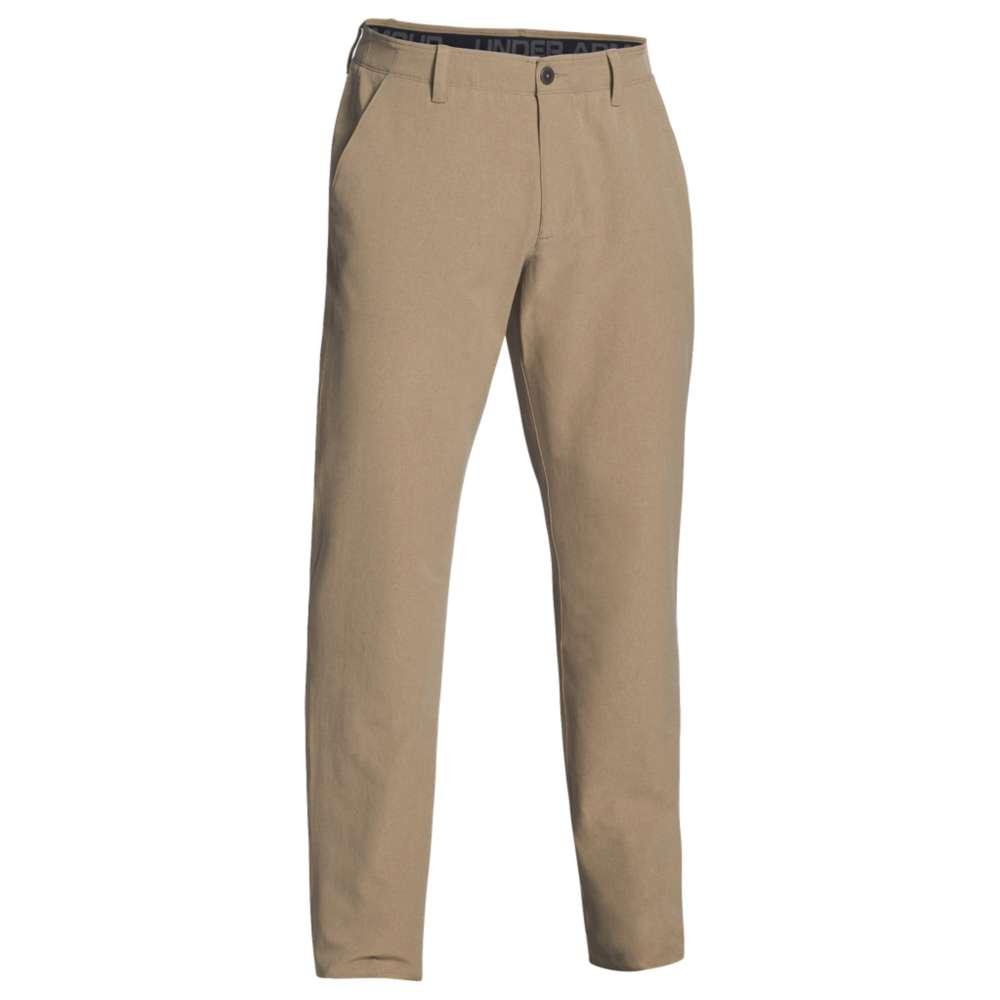 アンダーアーマー Under Armour メンズ ボトムス・パンツ スラックス【Team Airvent Flat Front Pants】Camel