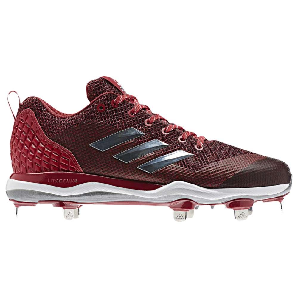 アディダス adidas メンズ 野球 シューズ・靴【Poweralley 5】Red