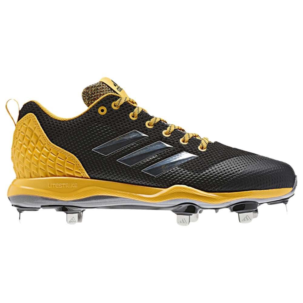 アディダス adidas メンズ 野球 シューズ・靴【Poweralley 5】Black/Gold