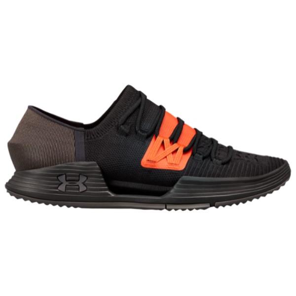 アンダーアーマー Under Armour メンズ フィットネス・トレーニング シューズ・靴【Speedform Amp 3.0】Black/Orange