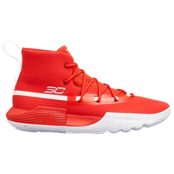 アンダーアーマー Under Armour メンズ バスケットボール シューズ・靴【SC 3Zero II】Red/White