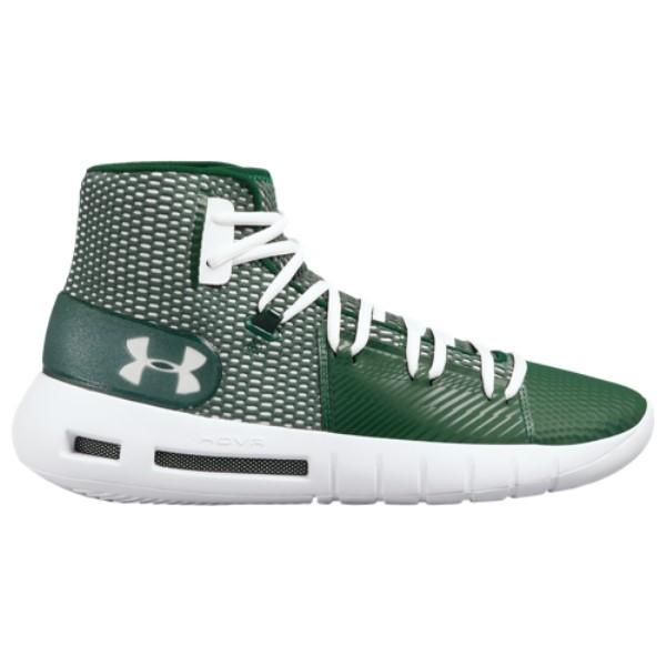 アンダーアーマー Under Armour メンズ バスケットボール シューズ・靴【HOVR Havoc】Forest Green/White