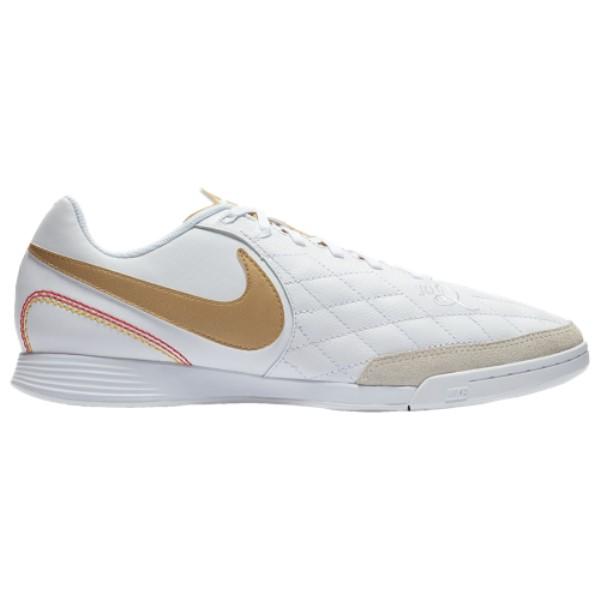 ナイキ Nike メンズ サッカー シューズ・靴【Tiempo LegendX 7 Academy IC】White/Metallic Gold