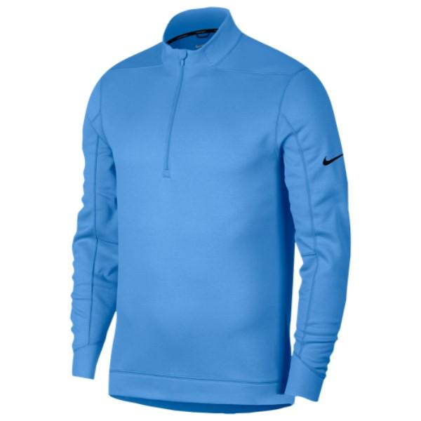 ナイキ Nike メンズ ゴルフ トップス【Therma Repel 1/2 Zip Golf Top】University Blue/Black