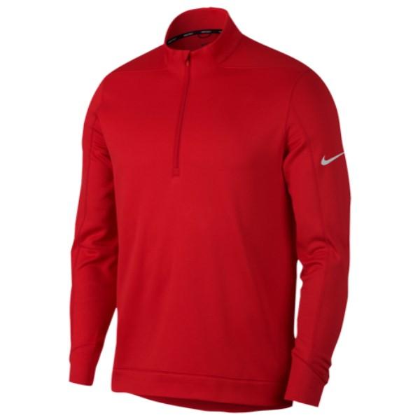 ナイキ Nike メンズ ゴルフ トップス【Therma Repel 1/2 Zip Golf Top】University Red/Silver