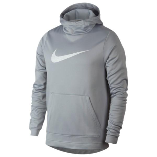 ナイキ Nike メンズ トップス パーカー【Therma Hoodie】Wolf Grey/White