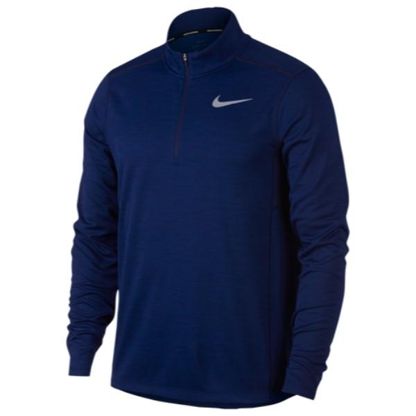 ナイキ Nike メンズ ランニング・ウォーキング トップス【Pacer 1/2 Zip 2.0】Blue Void/Heather