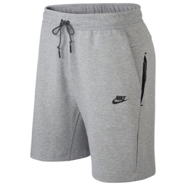 ナイキ Nike メンズ ボトムス・パンツ ショートパンツ【Tech Fleece Shorts】Dark Grey Heather/Dark Grey/Black