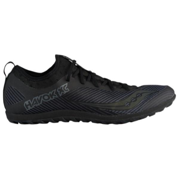 サッカニー Saucony メンズ 陸上 シューズ・靴【Havok XC Flat】Black