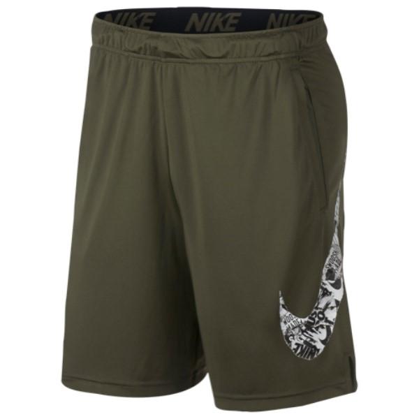 ナイキ Nike メンズ フィットネス・トレーニング ボトムス・パンツ【Fly Shorts 4.0】Olive Canvas/Black