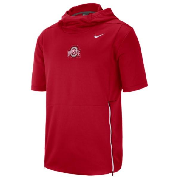ナイキ Nike メンズ トップス【College Therma S/S Top】Red