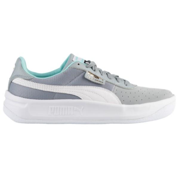 プーマ PUMA メンズ テニス シューズ・靴【California Casual】Quarry/White/White