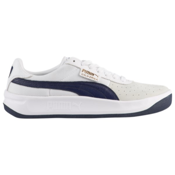 プーマ PUMA メンズ テニス シューズ・靴【California Casual】White/Peacoat/White