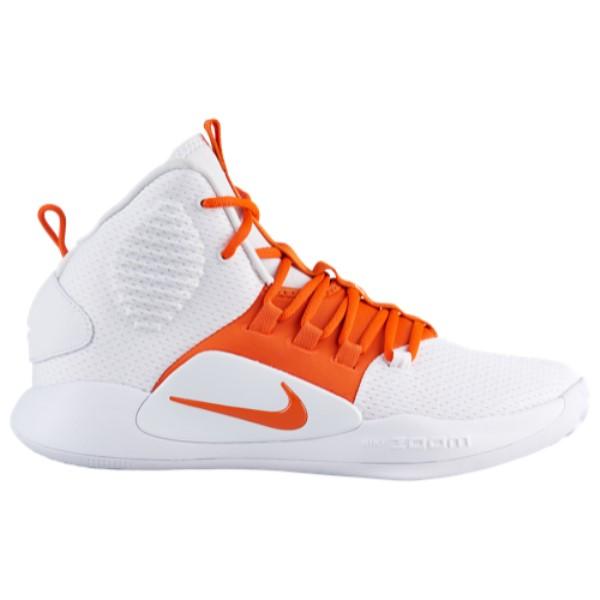 ナイキ Nike メンズ バスケットボール シューズ・靴【Hyperdunk X Mid】White/Brilliant Orange
