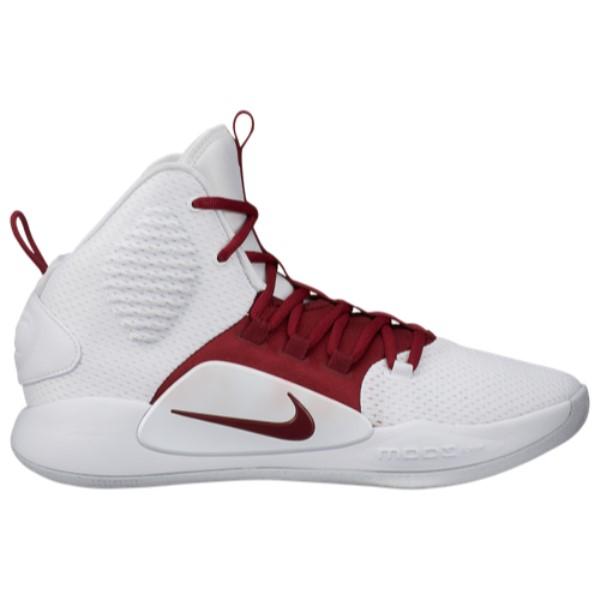 ナイキ Nike メンズ バスケットボール シューズ・靴【Hyperdunk X Mid】White/Team Red
