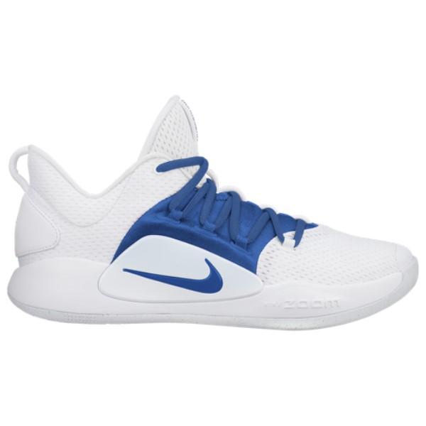 ナイキ Nike メンズ バスケットボール シューズ・靴【Hyperdunk X Low】White/Game Royal
