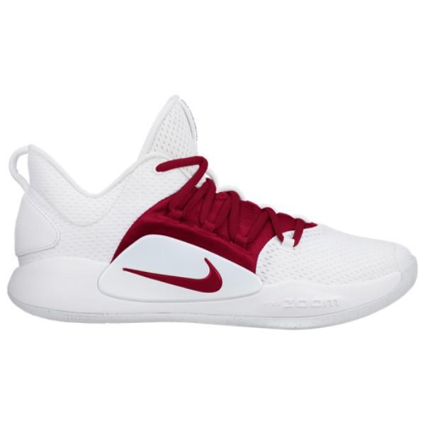 ナイキ Nike メンズ バスケットボール シューズ・靴【Hyperdunk X Low】White/Team Red