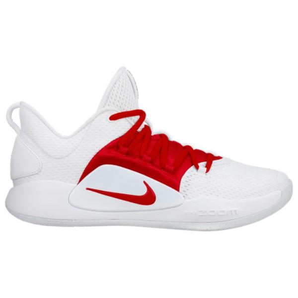ナイキ Nike メンズ バスケットボール シューズ・靴【Hyperdunk X Low】White/University Red