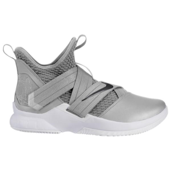 ナイキ Nike メンズ バスケットボール シューズ・靴【LeBron Soldier XII】Wolf Grey/Black/White