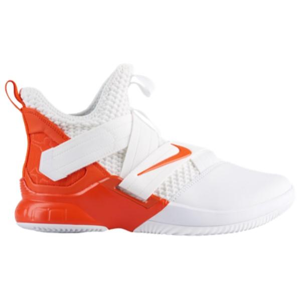 ナイキ Nike メンズ バスケットボール シューズ・靴【LeBron Soldier XII】White/Team Orange