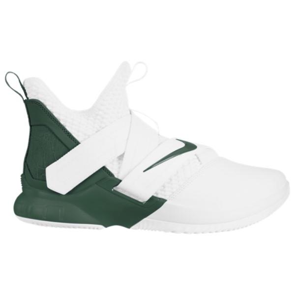 ナイキ Nike メンズ バスケットボール シューズ・靴【LeBron Soldier XII】White/Fir