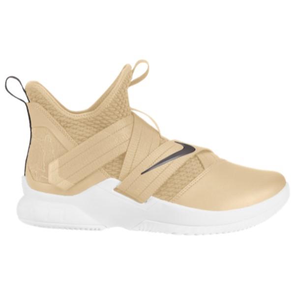 ナイキ Nike メンズ バスケットボール シューズ・靴【LeBron Soldier XII】Team Gold/Dark Grey/White