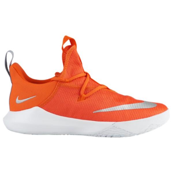 ナイキ Nike メンズ バスケットボール シューズ・靴【Zoom Shift 2】Brilliant Orange/Metallic Silver/White