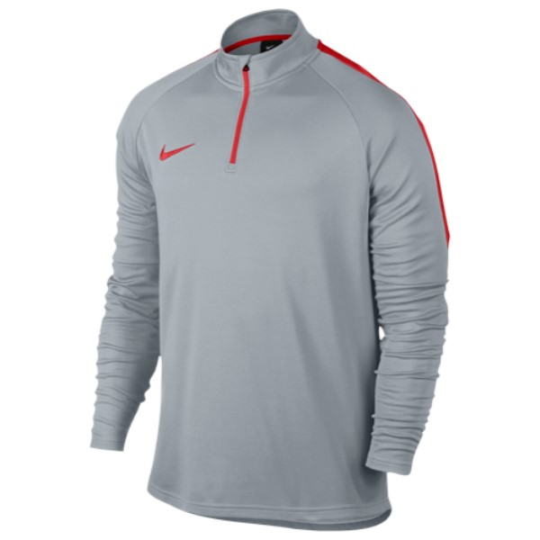 ナイキ Nike メンズ サッカー トップス【Academy 1/4 Zip Top】Wolf Grey/Light Crimson