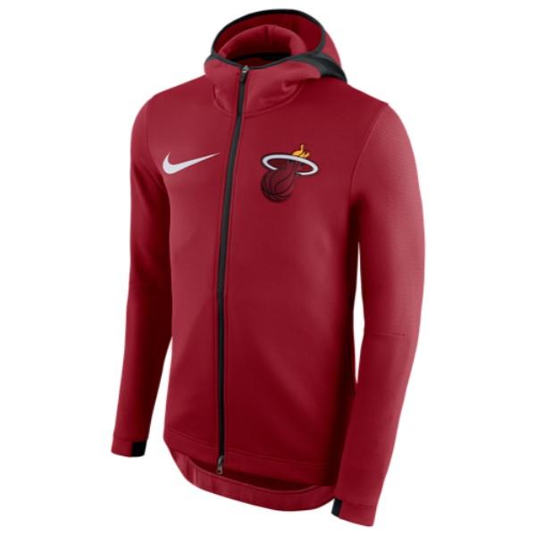 ナイキ Nike メンズ トップス パーカー【NBA Player Showtime Therma Full-Zip Hoodie】Tough Red