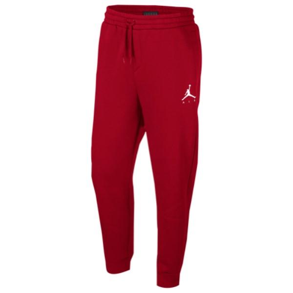 ナイキ ジョーダン Jordan メンズ ボトムス・パンツ【Jumpman Air Fleece Pants】Gym Red/White