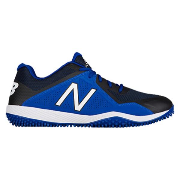 ニューバランス New Balance メンズ 野球 シューズ・靴【4040v4 Turf】Black/Royal