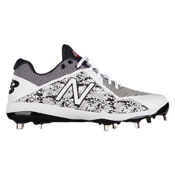 ニューバランス New Balance メンズ 野球 シューズ・靴【4040V4 Metal Low】White/Camo