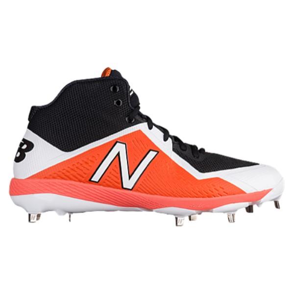 ニューバランス New Balance メンズ 野球 シューズ・靴【4040v4 Metal Mid】Black/Orange