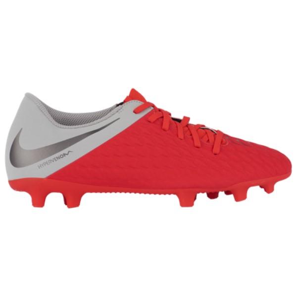 ナイキ Nike メンズ サッカー シューズ・靴【Hypervenom Phantom 3 Club FG】Light Crimson/Metallic Dark Grey/Wolf Grey