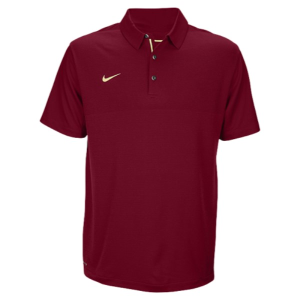 ナイキ Nike メンズ トップス ポロシャツ【Team Sideline Dry Elite Polo】Team Maroon/Team Gold