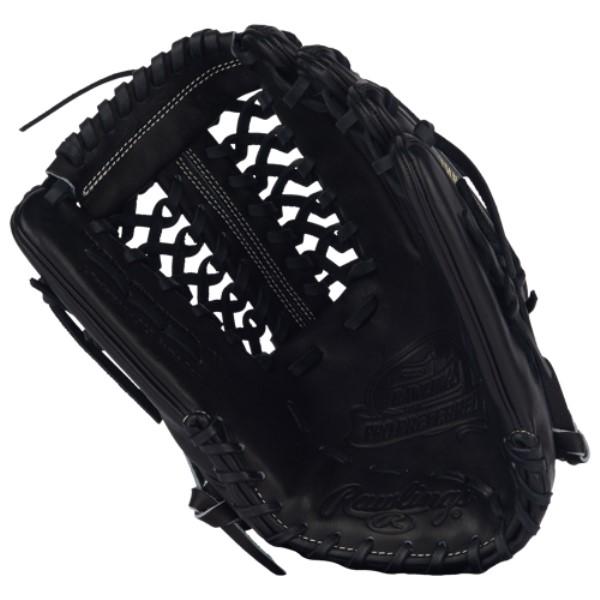 ローリングス Rawlings ユニセックス 野球 グローブ【Heart of the Hide Fielder's Glove】Black/Brown/Grey