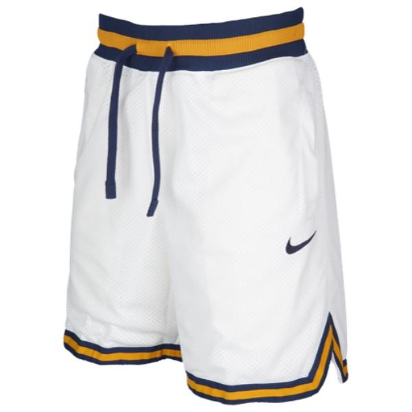 ナイキ Nike メンズ バスケットボール ボトムス・パンツ【DNA Double Mesh Shorts】White/Midnight Navy