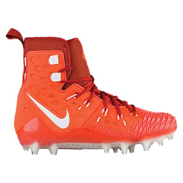 ナイキ Nike メンズ アメリカンフットボール シューズ・靴【Zoom Force Savage Elite TD】Brilliant Orange/White/Cinnabar