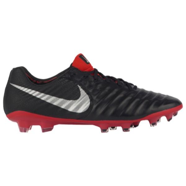 ナイキ Nike メンズ サッカー シューズ・靴【Tiempo Legend 7 Elite FG】Black/Metallic Silver/Light Crimson