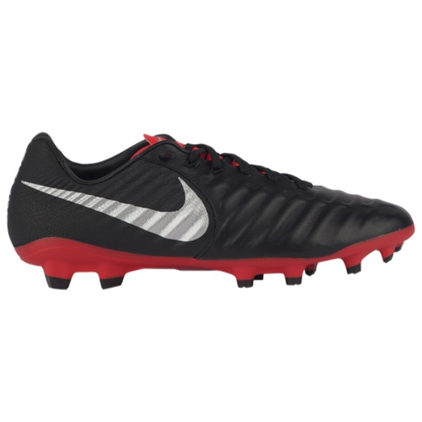ナイキ Nike メンズ サッカー シューズ・靴【Tiempo Legend 7 Pro FG】Black/Metallic Silver/Light Crimson