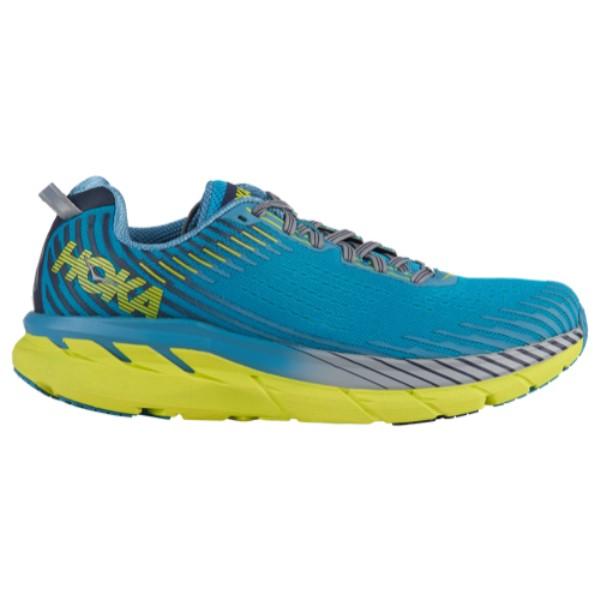 ホカ オネオネ HOKA ONE ONE メンズ ランニング・ウォーキング シューズ・靴【Clifton 5】Caribbean Sea/Storm Blue
