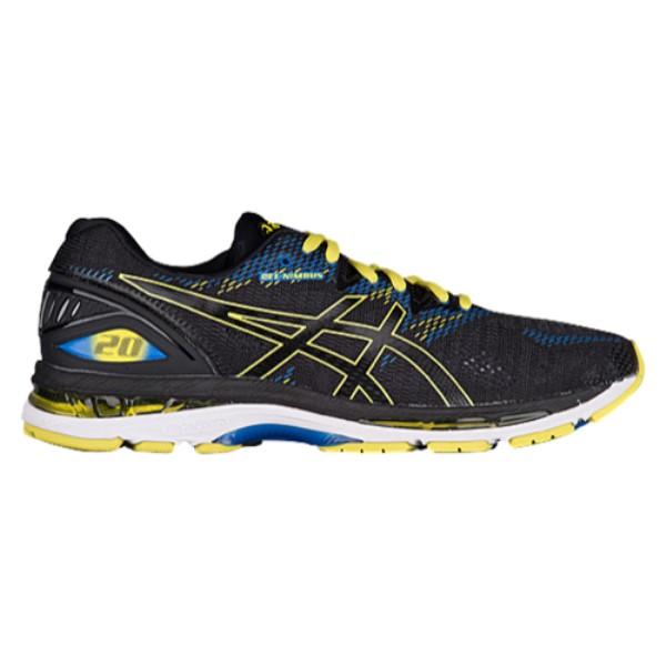 アシックス ASICS メンズ ランニング・ウォーキング シューズ・靴【GEL-Nimbus 20】Black/Sulphur Spring/Victoria Blue