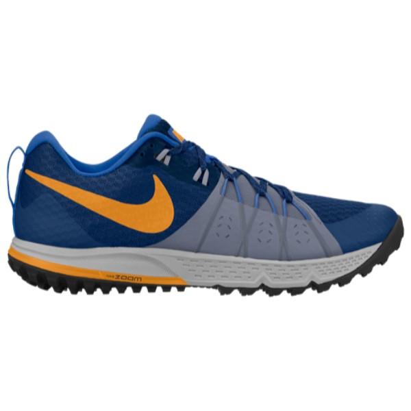 ナイキ Nike メンズ ランニング・ウォーキング シューズ・靴【Zoom Wildhorse 4】Gym Blue/Orange Peel/Ashen Slate/Signal Blue