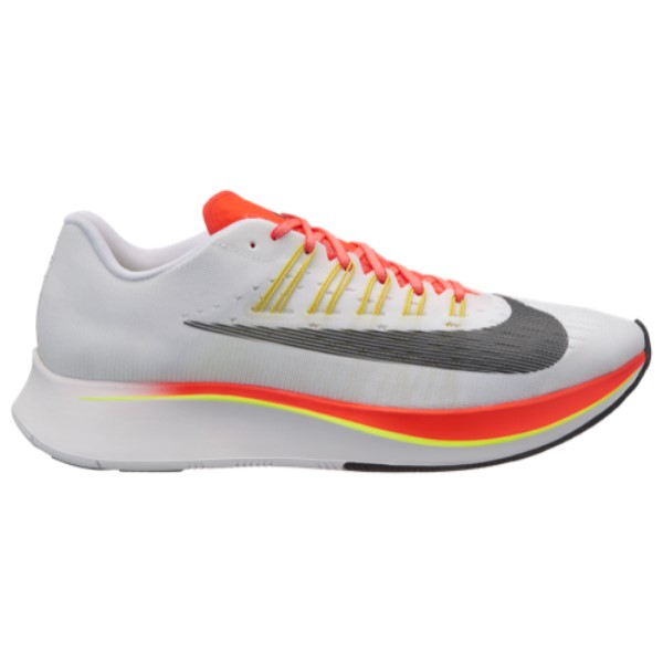 ナイキ Nike メンズ 陸上 シューズ・靴【Zoom Fly】White/Gun Smoke/Atmosphere Grey/Volt