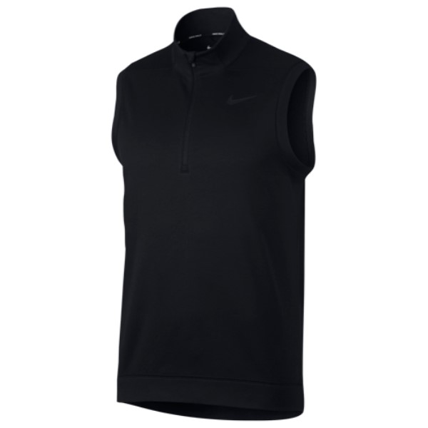 ナイキ Nike メンズ ゴルフ トップス【Therma Repel Golf Vest】Black/Black
