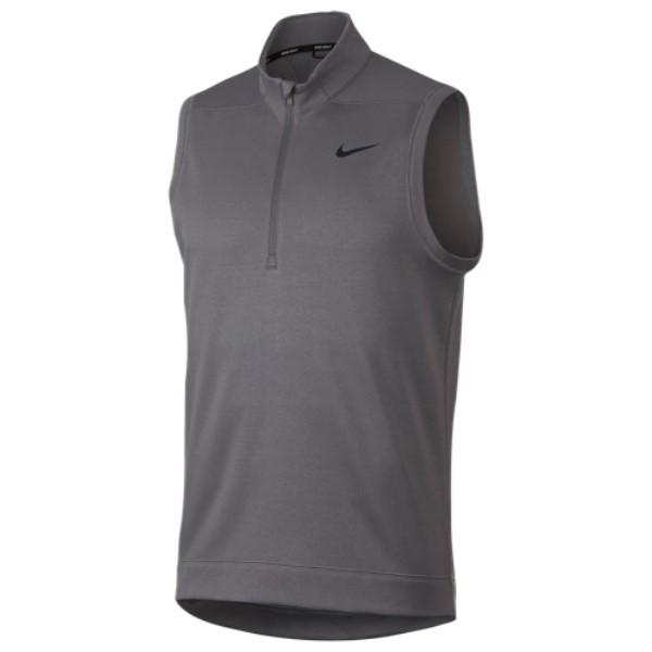 ナイキ Nike メンズ ゴルフ トップス【Therma Repel Golf Vest】Gunsmoke/Black