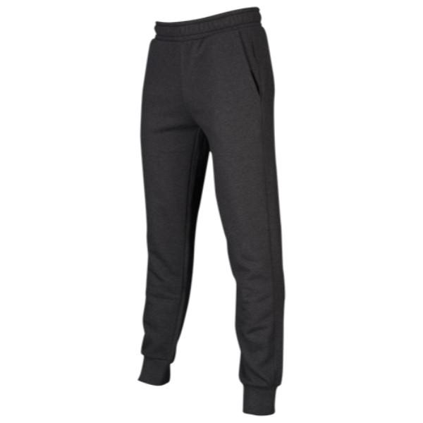 プーマ PUMA メンズ ボトムス・パンツ【Essentials Logo Fleece Pants】Dark Grey Heather