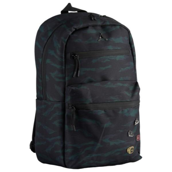 ナイキ ジョーダン Jordan ユニセックス バッグ バックパック・リュック【Pin Backpack】Black/Olive Tiger Camo